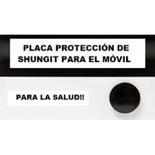 PLACA SHUNGUITA MOVIL REDONDA