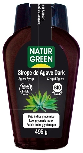 SIROPE AGAVE DARK 360ML NATURGREEN
