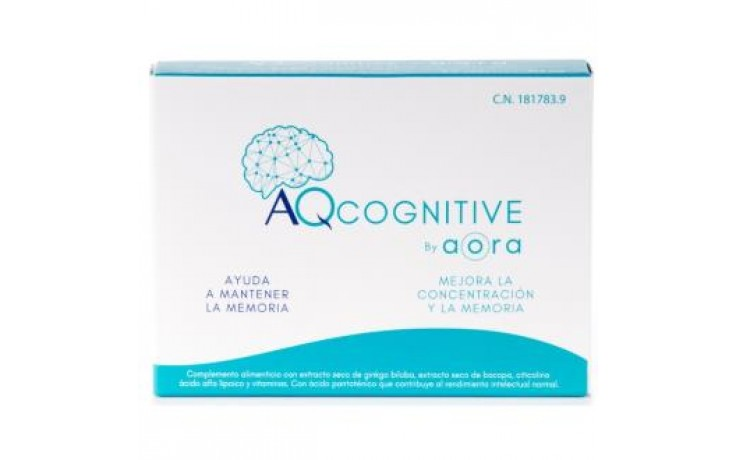 AQCOGNITIVE  475MG 30CAP BY AORA