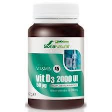 VITAMINA D3 2000UI 60COMP MG DOSE