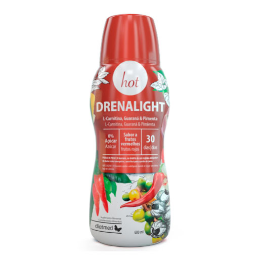 DRENALIGHT HOT 600ML DIETMED