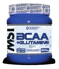 BCAA GLUTAMINA SABOR MELON 500GR SCIENTIFFIC NUTRITION
